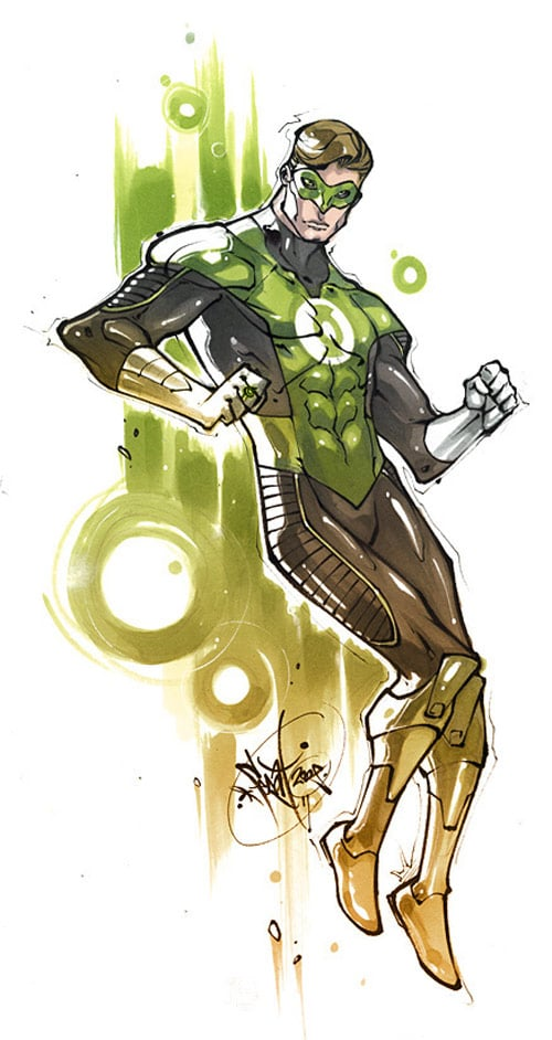 MkvsDC. Green Lantern by ScorpionBlaze
