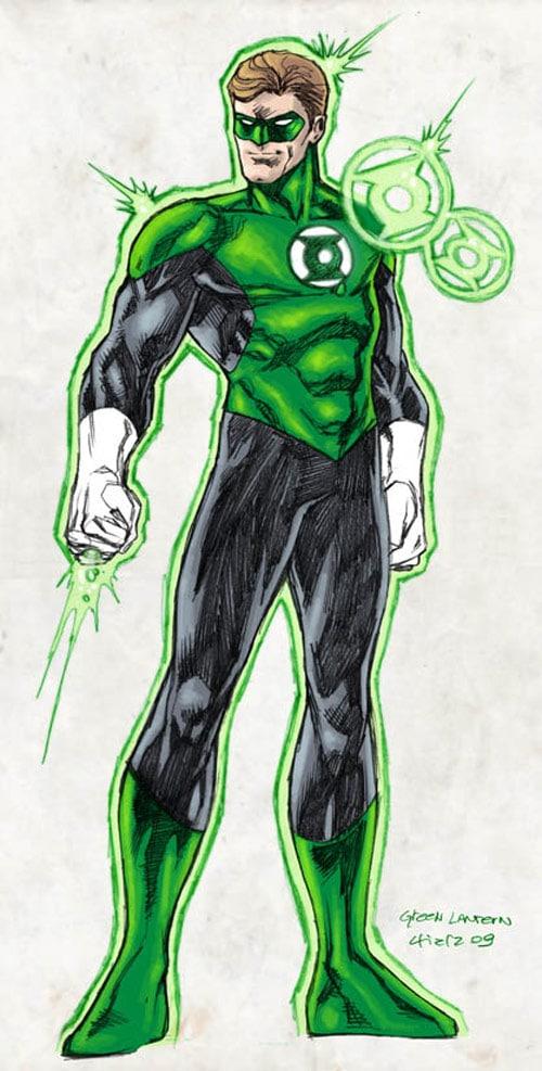 Green Lantern - Hal Jordan by dichiara