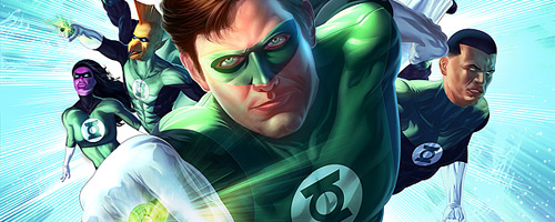 Green Lantern Inspired Artwork