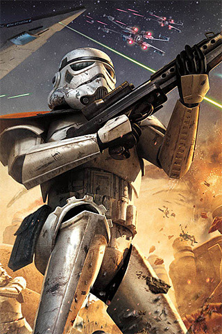 Iphone wallpaper 70 gaming inspired designs designrfix star wars battlefront squadron voltagebd Gallery