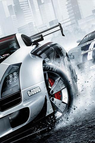 Ridge Racer iPhone Wallpaper