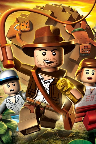 LEGO Indiana Jones iPhone Wallpaper