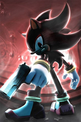 Shadow The Hedgehog iPhone Wallpaper