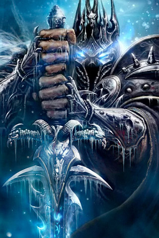 Wrath of the Lich King iPhone Wallpaper