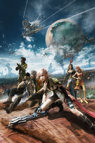 Final Fantasy XIII Cast