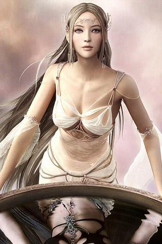 Light Goddess – Shaiya