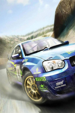 Colin Mcrae Rally iPhone Wallpaper