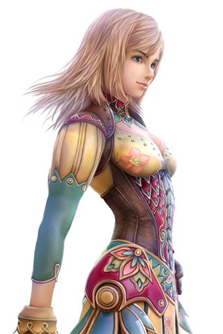 Final Fantasy Girl iPhone Wallpaper
