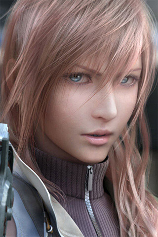 Final Fantasy XIII iPhone Wallpaper