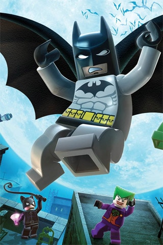 Lego Batman iPhone Wallpaper