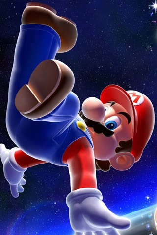 Super Mario iPhone Wallpaper