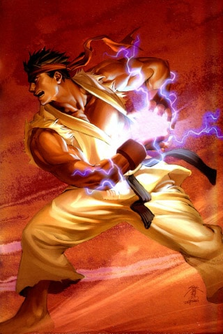 ryu wallpaper. Ryu – Hadouken