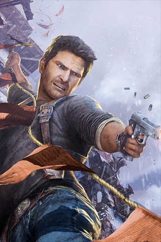 Uncharted 2 iPhone Wallpaper