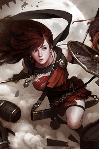 Vindictus iPhone Wallpaper