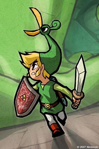 Zelda iPhone Wallpaper