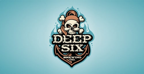 DEEP SIX BREWERY by Logomotive