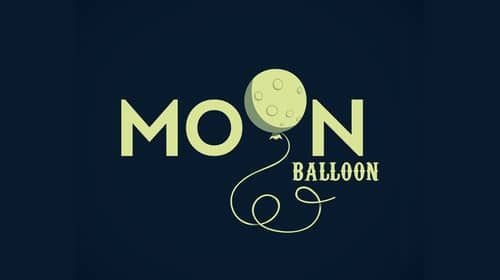 MOON BALLOON by Michael Spitz
