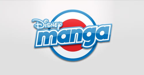 Disney Manga logo design
