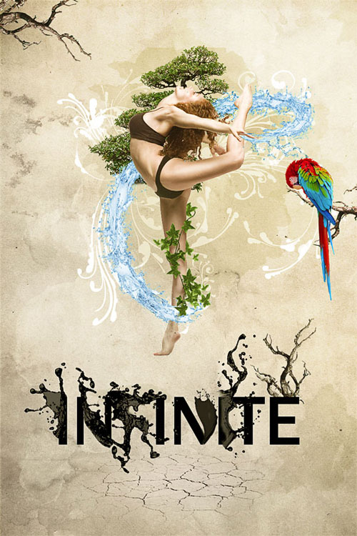 Create a dynamic nature poster in Photoshop
