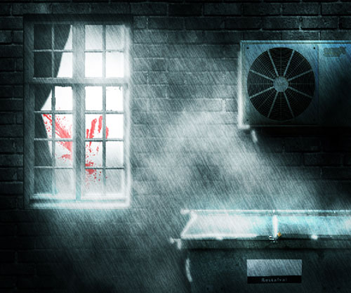 Create a Dark and Rainy Crime Scene in Photoshop