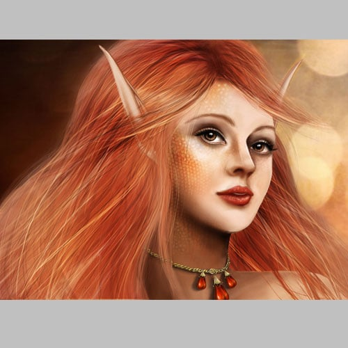 How to Paint a Fantasy Portrait From Scratch With Photoshop