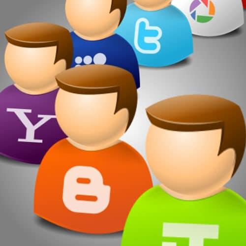 IconTexto Web 2.0 User by IconTexto