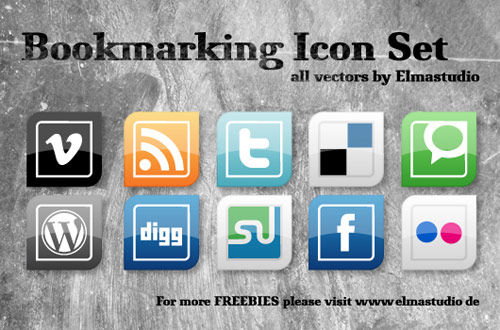 Social Bookmarking Vektor