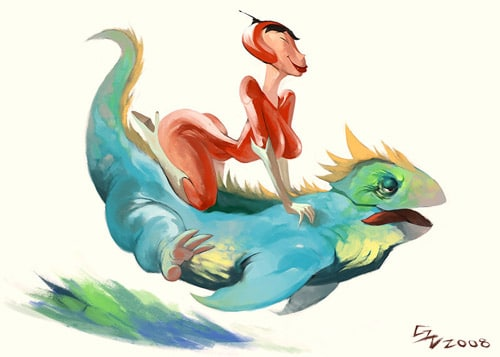 Salamander + Pepper by GH-Graphics