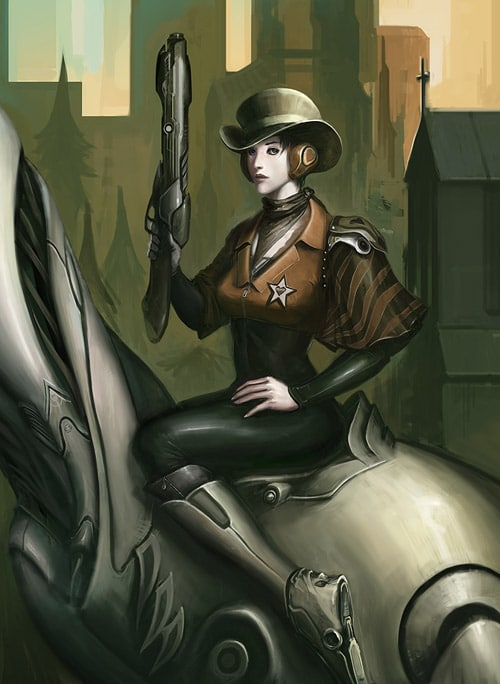 Pepper Cowgirl by PepperProject