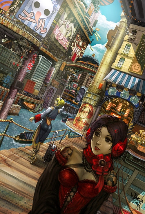 pepper in imaginarycity by plue