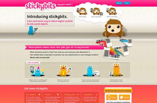 stickybits.com