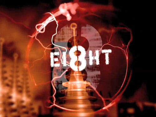 """Eight"" Movie Title Effects"