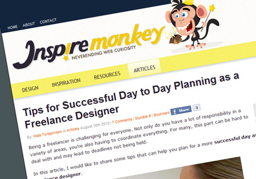 Tips for Successful Day to Day Planning as a Freelance Designer