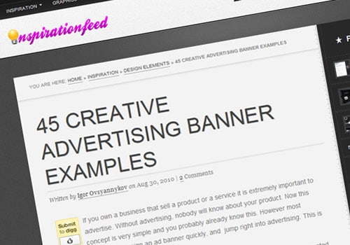 45 Creative Advertising Banner Examples
