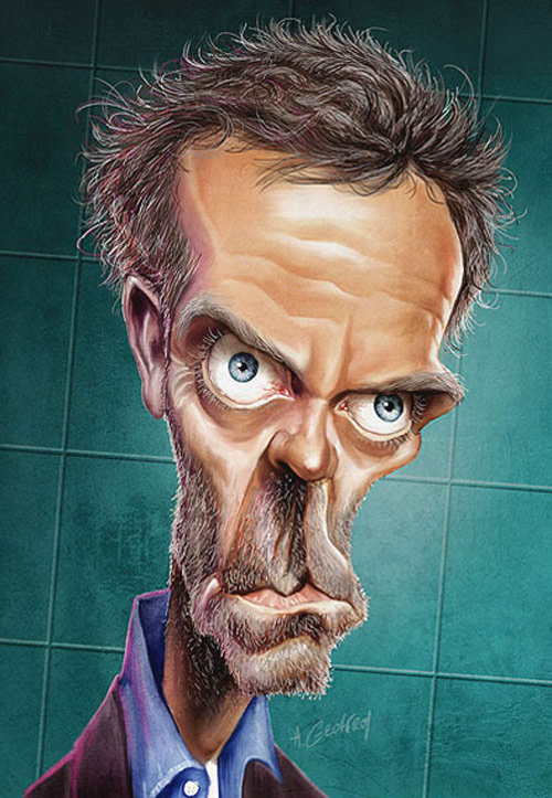 Caricatures by anthony geoffroy