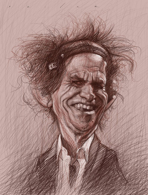 Caricatures by Jason Seiler