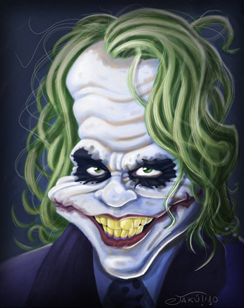 JOKER CHARICATURE by JaumeCullell