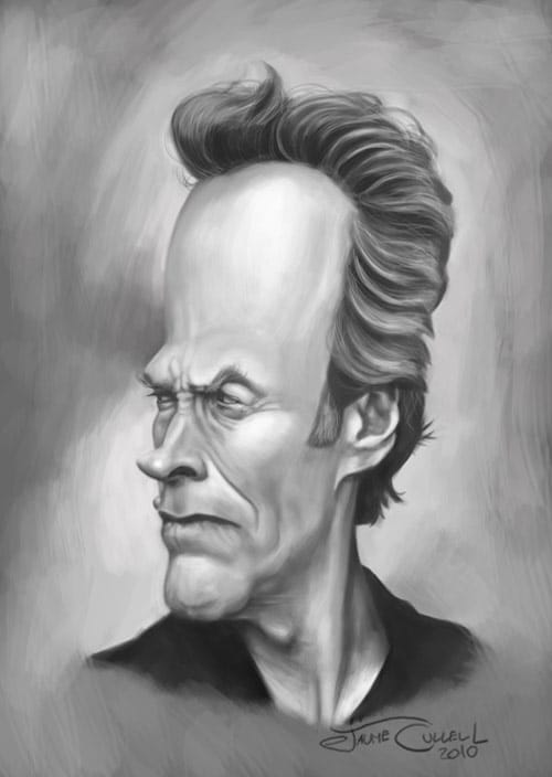 CLINT EASTWOOD by JaumeCullell