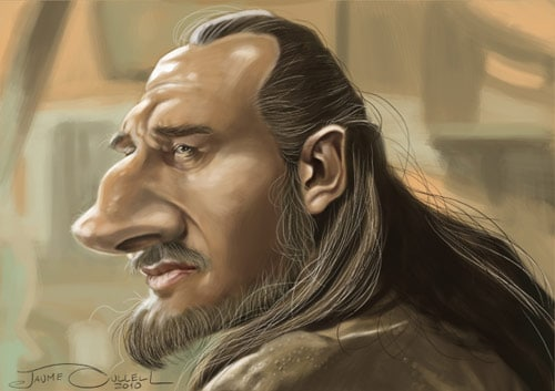 QUI-GON JIN by JaumeCullell