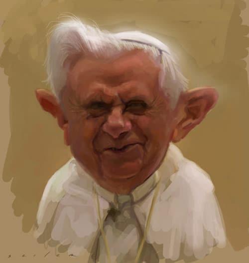 Caricatures by Jason Seiler