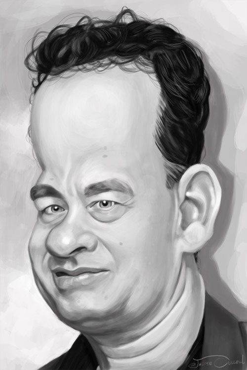 TOM HANKS by JaumeCullell
