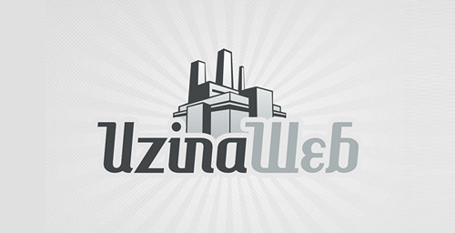 Uzina Web Logo by Rainfall