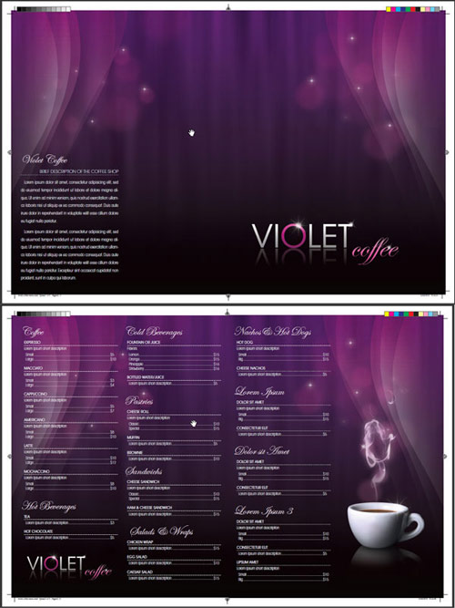 Design a Coffee Shop Menu Layout from Scratch with Photoshop and InDesign – Part 2