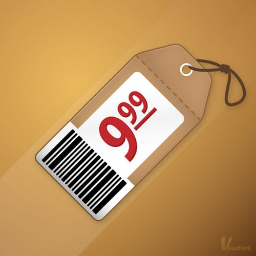 Create a Neat Price Tag