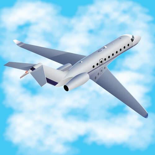 How to Create a Three-dimensional Airplane with Adobe Illustrator