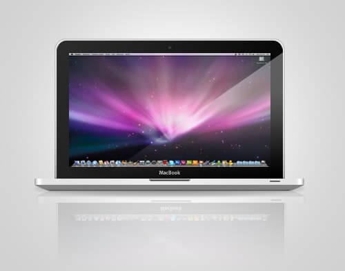 Macbook PSD by obsilion
