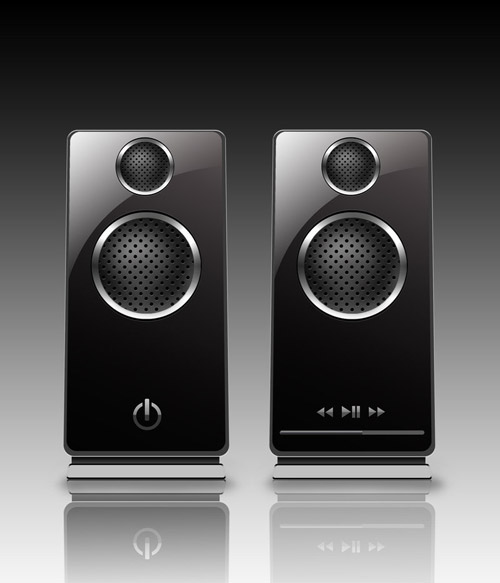PSD Speakers by castrochew
