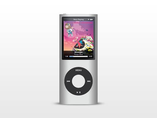 PSD: iPod nano by mppagano