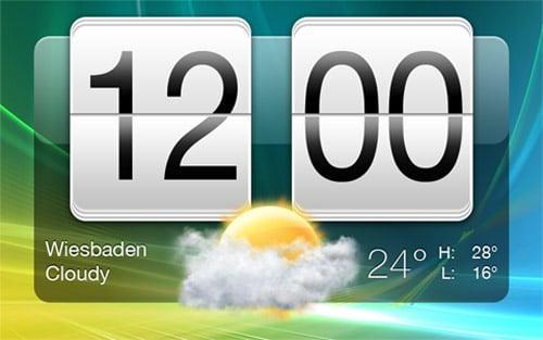 HTC Sense Clock by Livven