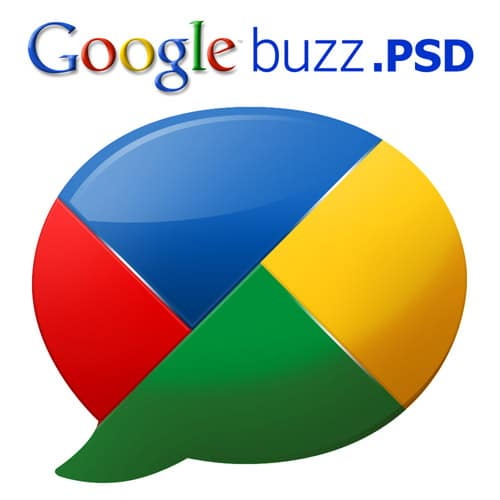 Google buzz Logo .PSD by zandog